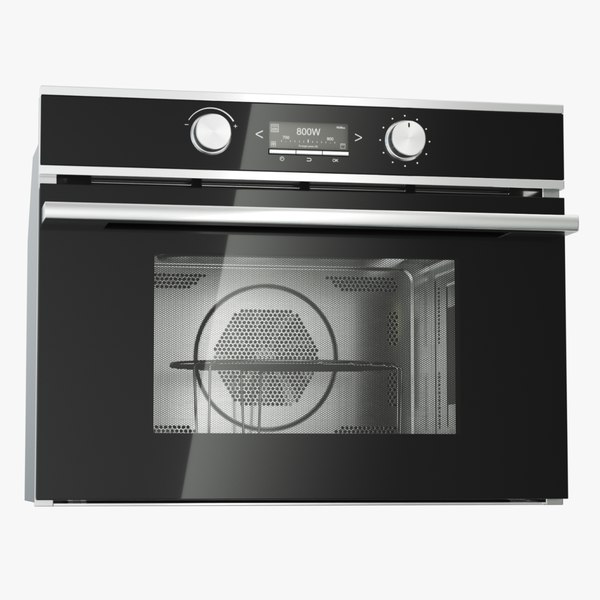 generic microwave oven 3D model