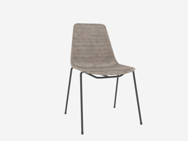 3D basket chair gian franco model