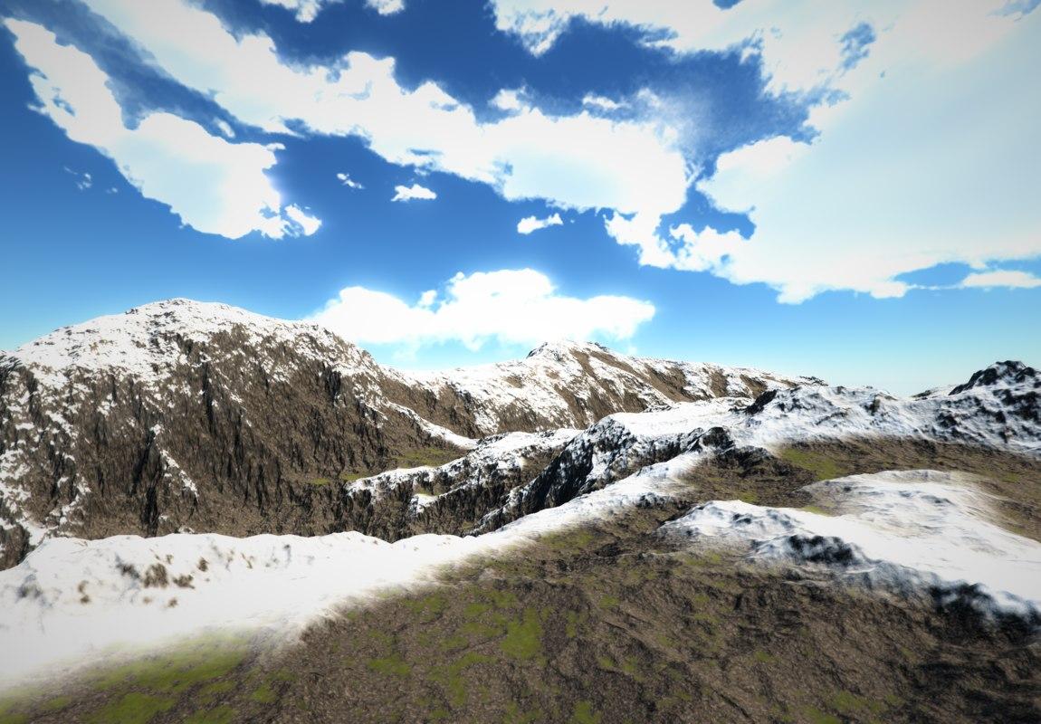 3D model 4k landscape pack
