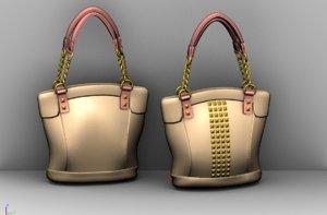 women bag 3D model