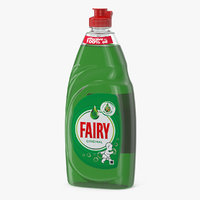3D fairy dishwashing liquid dish