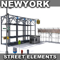 New York Street Elements