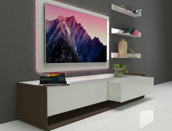 3D unit tv