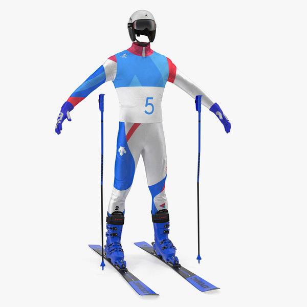 3D atomic ski equipment