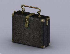 3D model bag suitcase