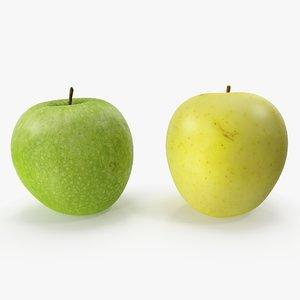 apples 02 3D model