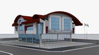 office building - 3D