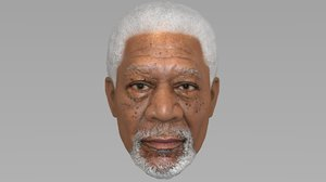 3D morgan freeman model