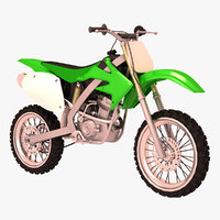 standar motocross bike 3D