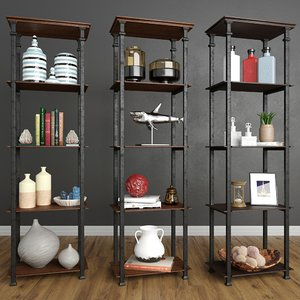 3D shelves decor