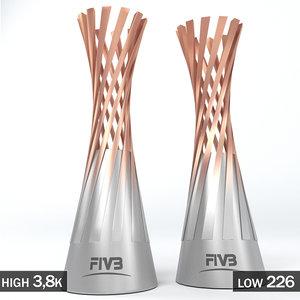 volleyball world championship women 3D
