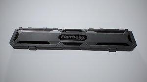 3D case flambeau gun