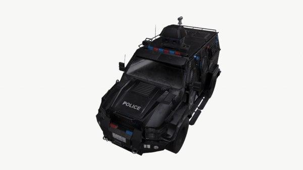3D swat truck