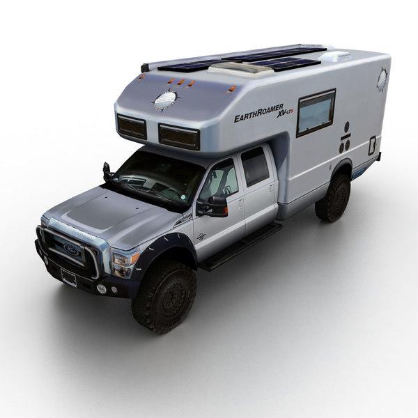 2011 earthroamer xv-lts 3d model