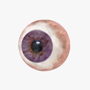 violet eye model