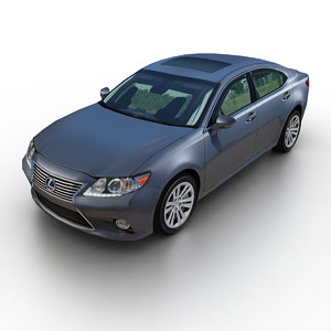 3d 2013 lexus es 350 model