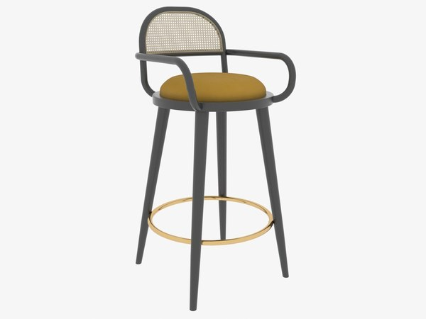 3D luc bar chair mambo model