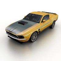 2013 retrobuilt 1969 mustang 3ds