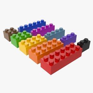 lego set 3D model