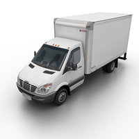 Freightliner Sprinter 3500 Box Van 2007