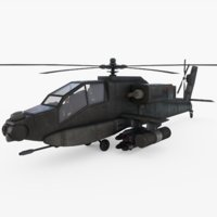 attack helicopter pilots 3D