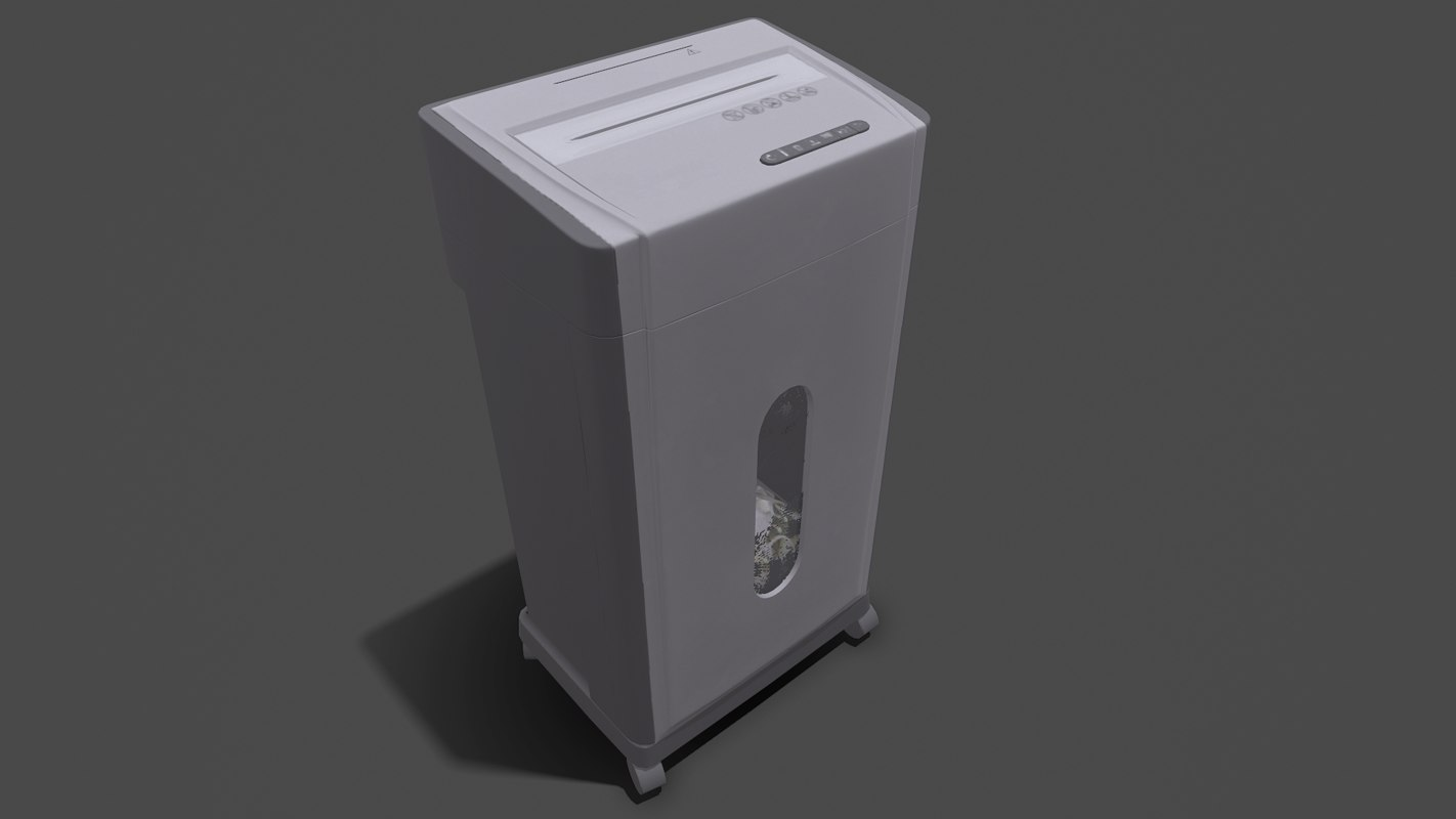 3D fellowes microshred 46