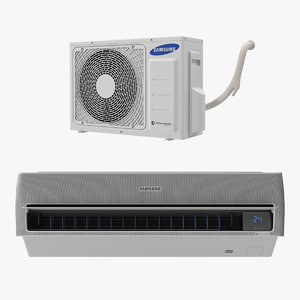 3D samsung air conditioner conditioning