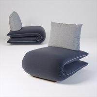 3D model chama armchair