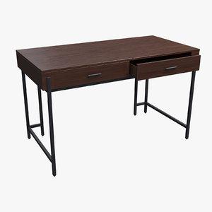 3D parkview writing desk