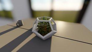 printable parametric vase 3D model