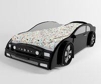 3D model children s bed -