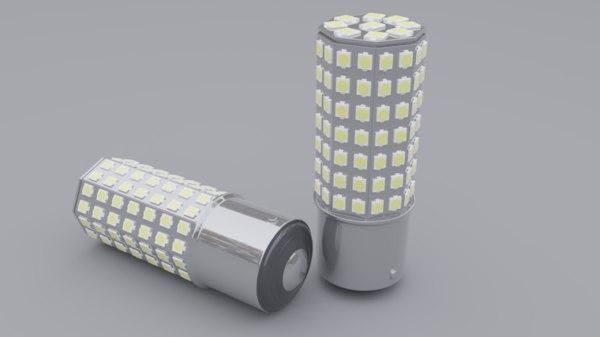 led lamp model