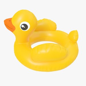 duck toy pool 3D model