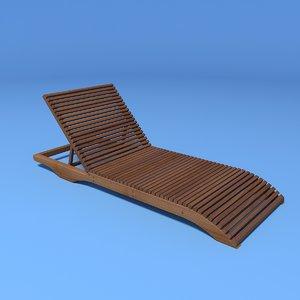 ibiza sun lounger model