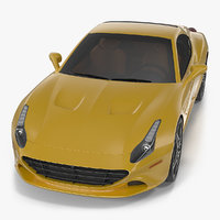 3D generic grand touring sports car