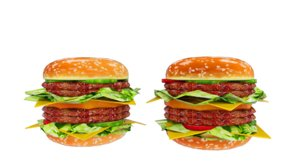3D fast food assets