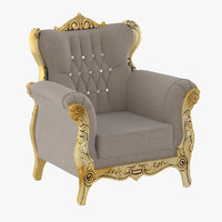 Golden Royal Armchair