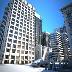 city tile 5 3D