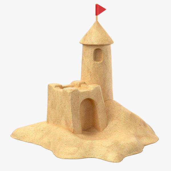 sand castle 3D