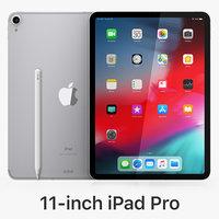 3D model apple ipad pro 11