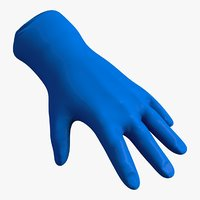 3D medical glove