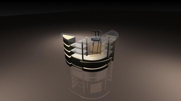 3D point sale model