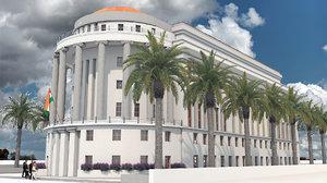 3D building federal commission