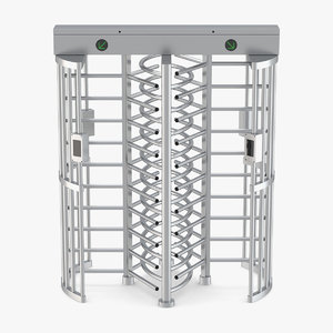turnstile gate dual 3D