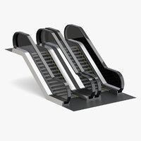3D escalator