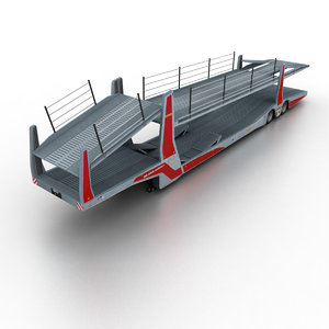 rolfo car transporter 3d model