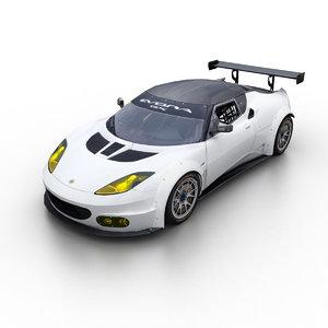 3d 2013 evora gx sports model