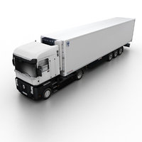 3d model 2011 renault magnum truck