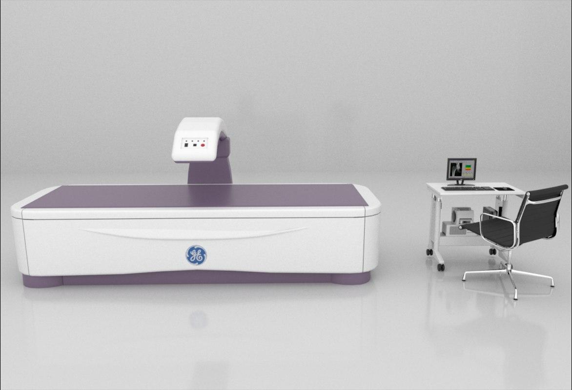 bone density scanner 3D model