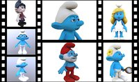 3D smurf animation